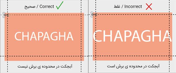 راهنمای آماده سازی فایل برای چاپ